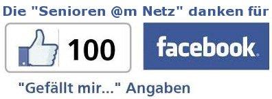 Senioren am Netz 100 Likes